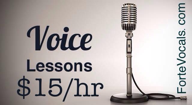 Discount Low Priced Singing Lessons Santa Cruz