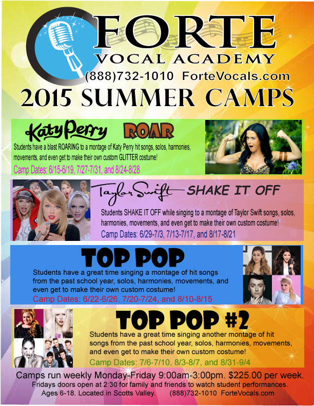 Santa cruz vocal camp